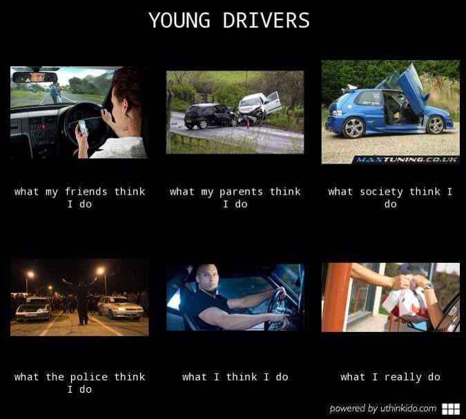 One Hot Lap Young Drivers Meme