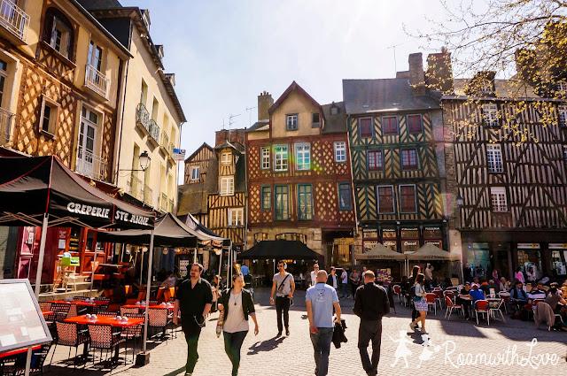 Honeymoon, france, ฮันนีมูน, รีวิว, ฝรั่งเศส, Rennes, สวีท, บ้าน, ขนม, ช็อคโกแลต, รถไฟ, TGV,Ti Koz, Saint Anne Creperie