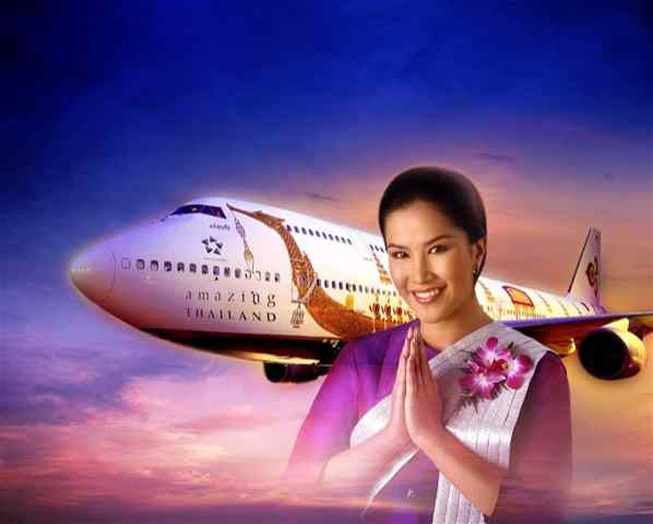 Download this Floeg Till Thailand Med Thai Airways Den Anledningen Att Alla picture