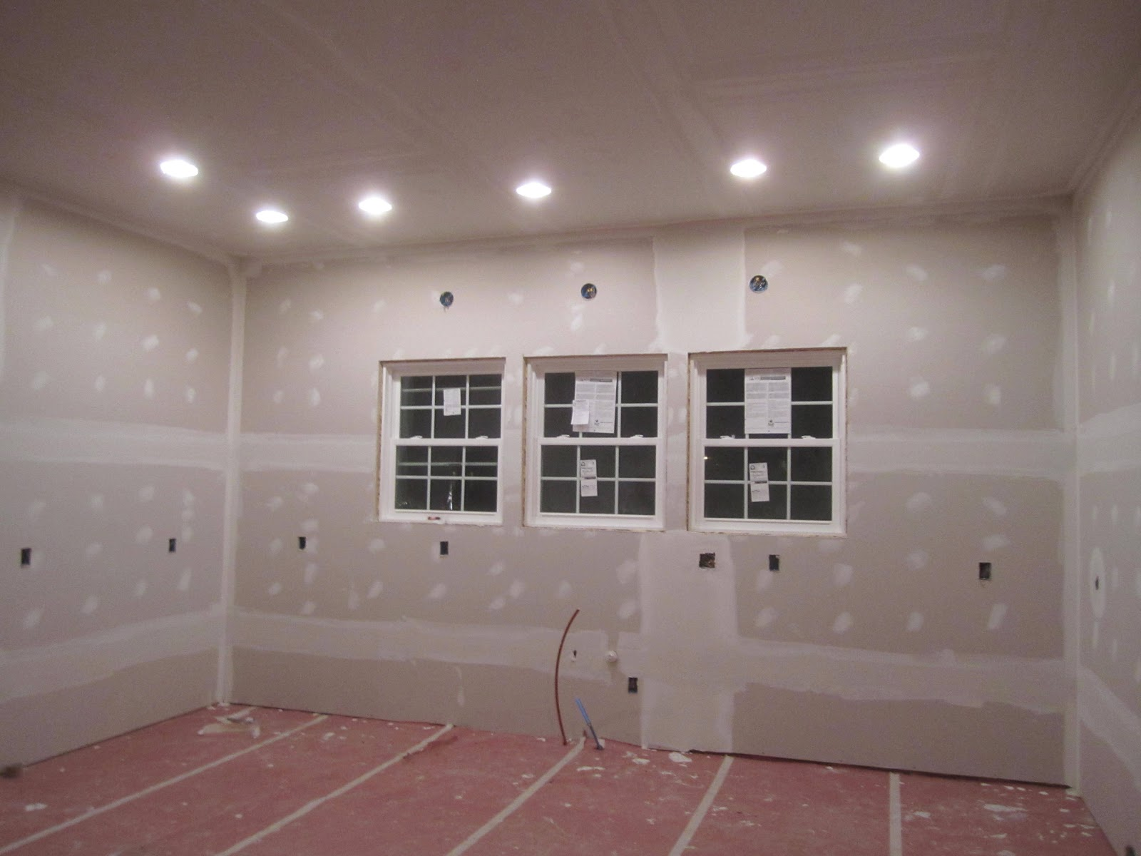 How to finish sheetrock