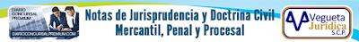 Notas de Jurisprudencia y Doctrina Civil, Mercantil, Penal y Procesal