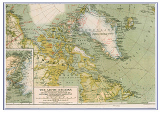 Arctic Map 1925