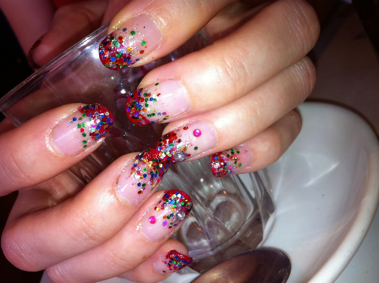 Colorful Nails Art Fashion - Nail Designs 2013 | dunia-fhasion