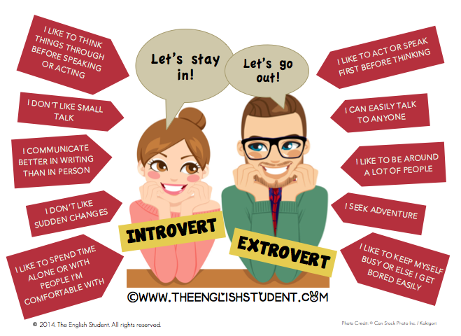 Extroverts are not superior to