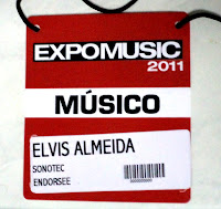 Credencial Expomusic 2011 - Cobertura Central do Rock