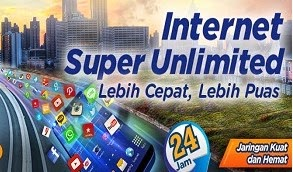 Tarif Harga Internet XL Super Unlimited