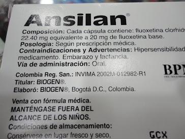 Ansilan (fluoxetina)