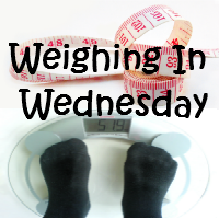 Weighing in Wednesday weight loss