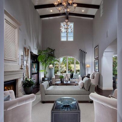 Dise o de sala estar con ideas fotos y tips de for Decoracion de techos de salas