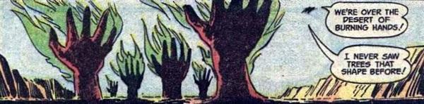Supergirl #2, Desert of Burning Hands