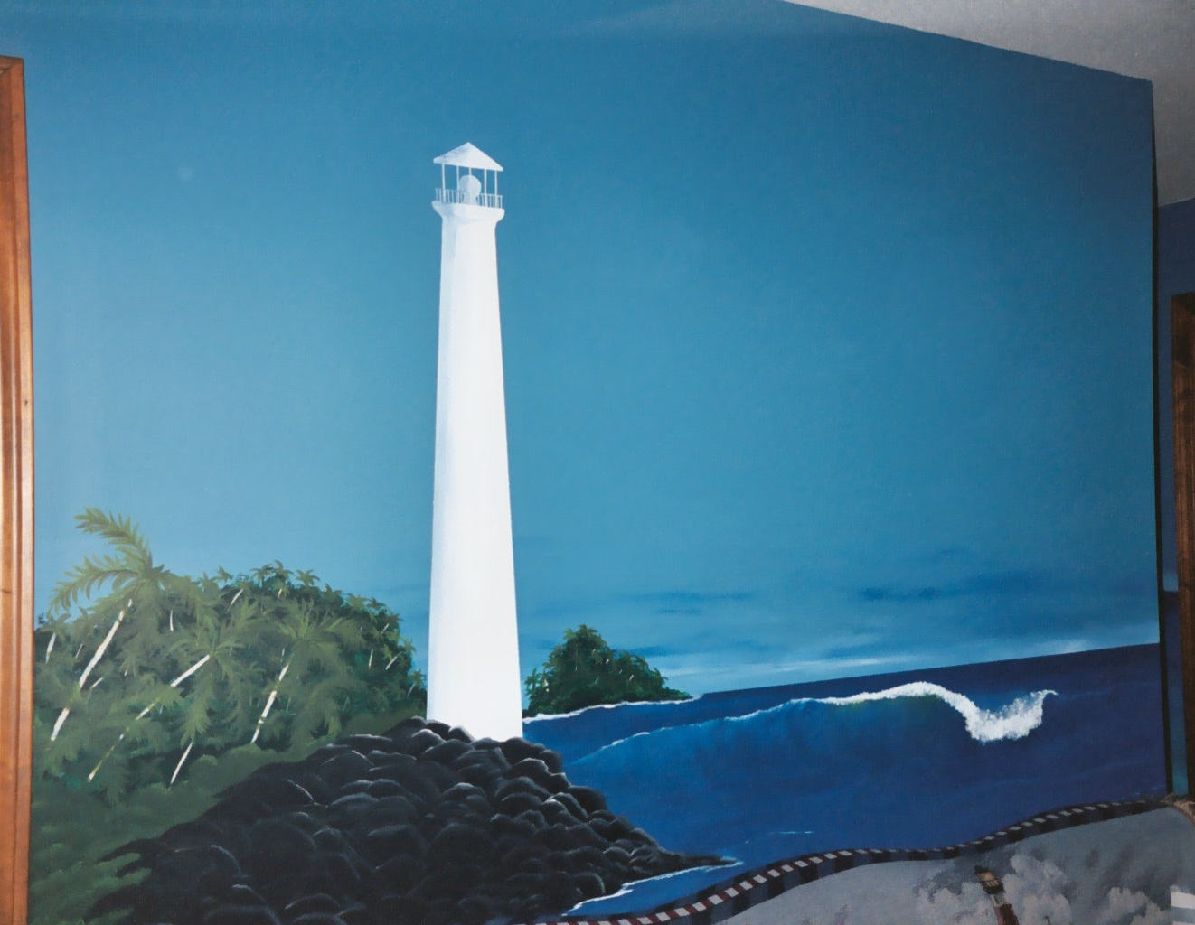 all things handcrafted tips classes and more april 2011 so if you can t have a house in your favorite place on earth bring the beauty of it to your own home with the help of paint stencils wall murals