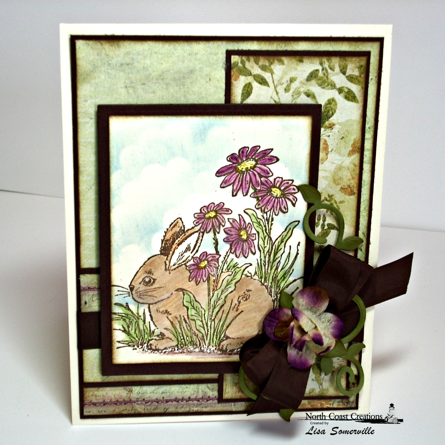 Stamps - North Coast Creations Hoppy Easter, ODBD Custom Fancy Foliage Die
