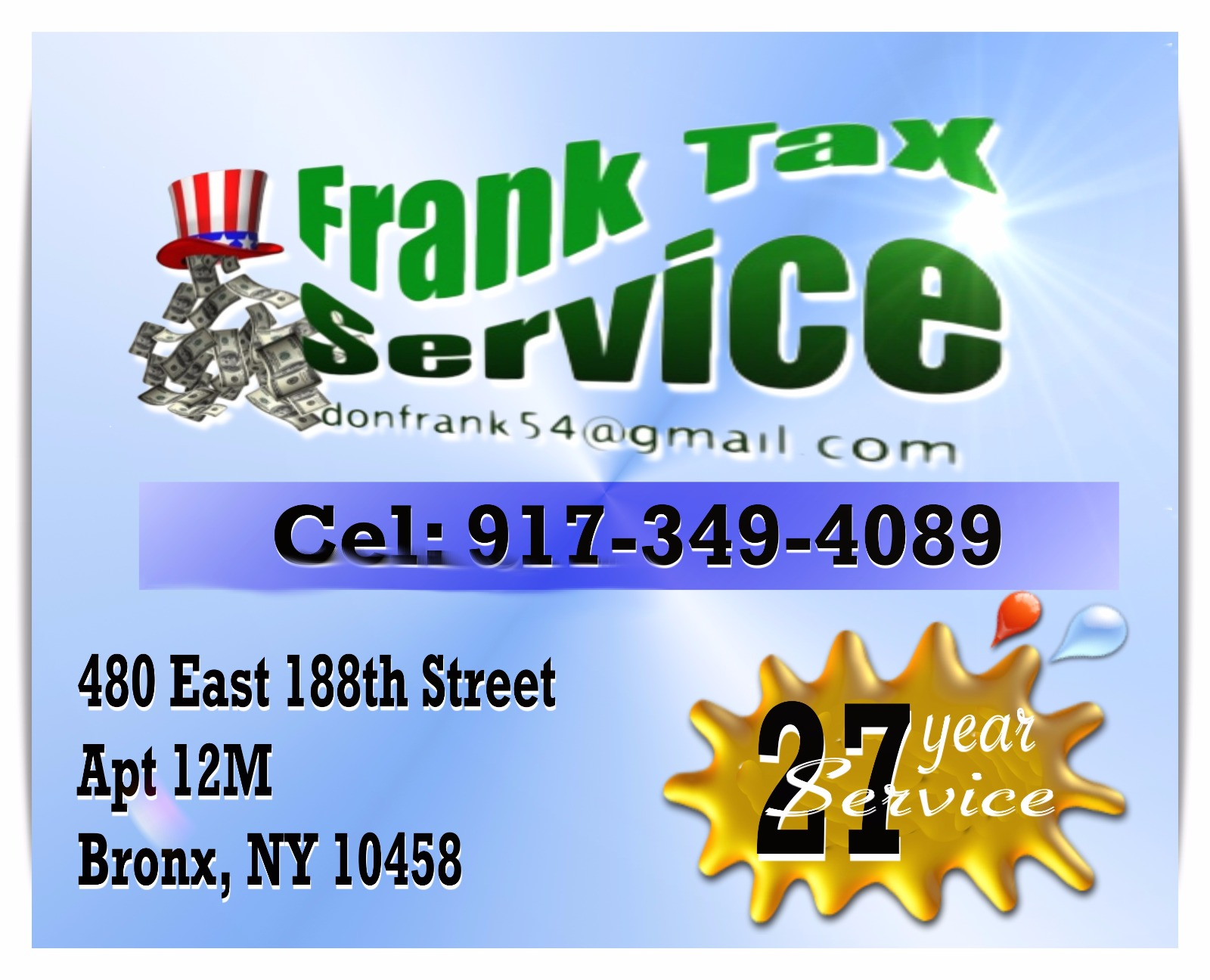 Frank Jimenez Tax Service