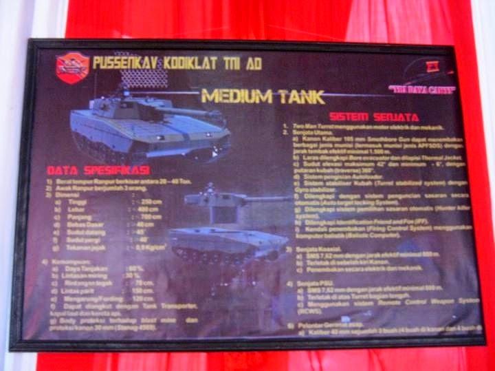 Konsep Medium Tank Pussenkav dalam Pameran di Monas, Nov, 2014