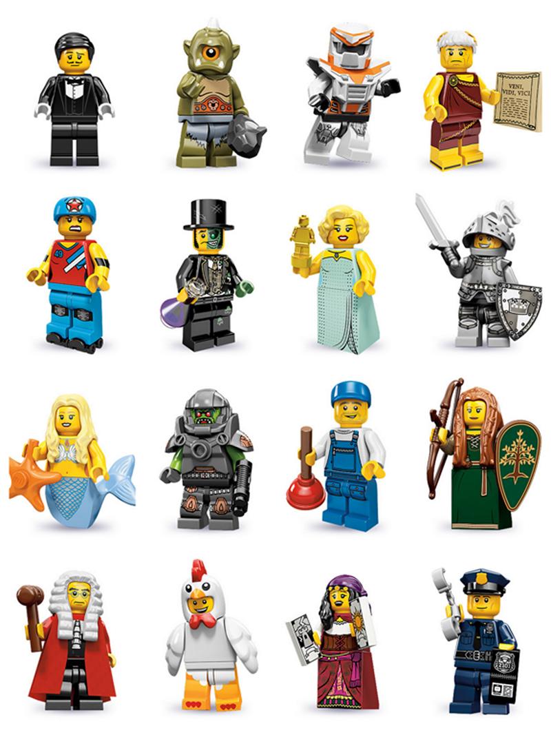 Series  9 Lego mini figure CHICKEN SUIT GUY ..