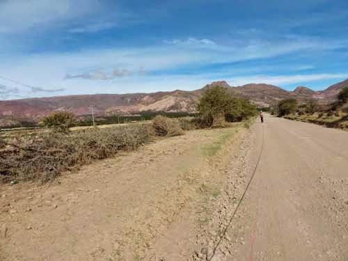Expropiarán terrenos para construir la vía Tupiza - Uyuni