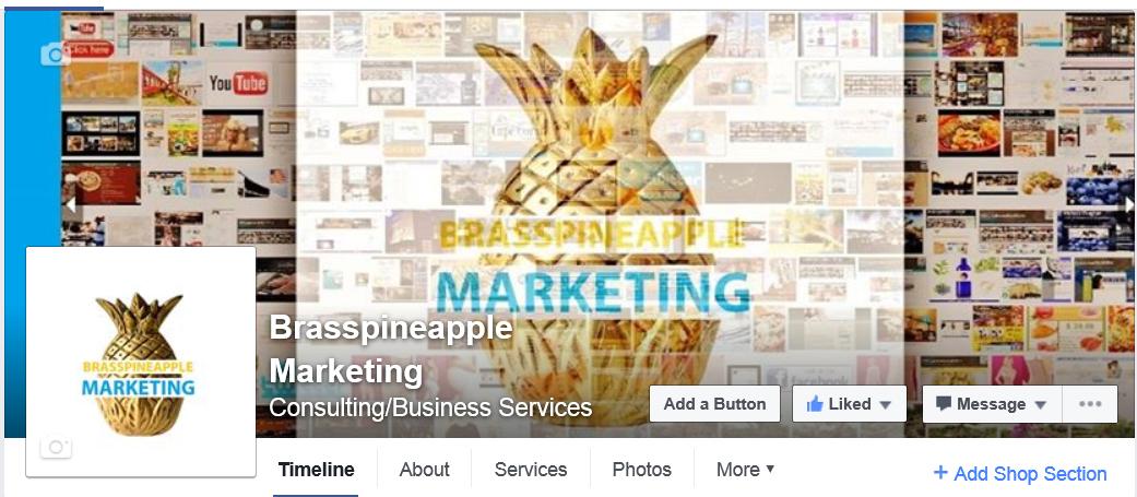 BRASPINEAPPLE MARKETING / FACEBOOK PAGE