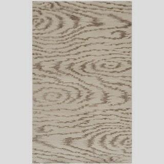 faux bois wool rug