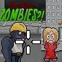 Proteja sua namorada no Jogos de Zumbi