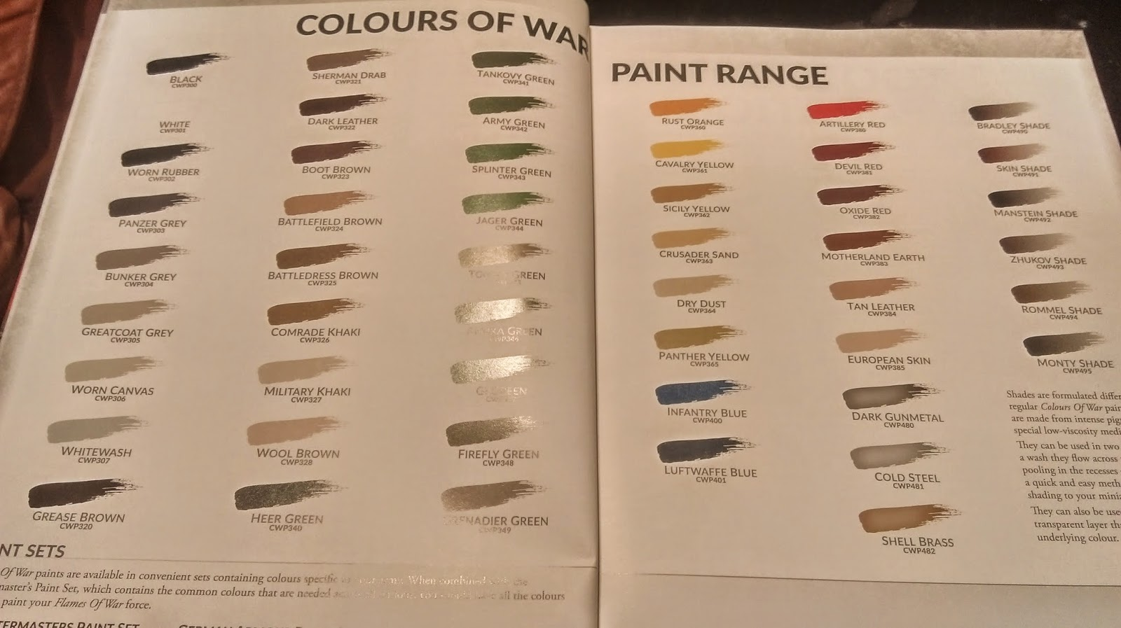 Review colors of war wwpd wargames board games rpgs lcgs and if you need someone to review your new paint set i know a chubby guy on the us east coast who might be interested cough cough geenschuldenfo Images
