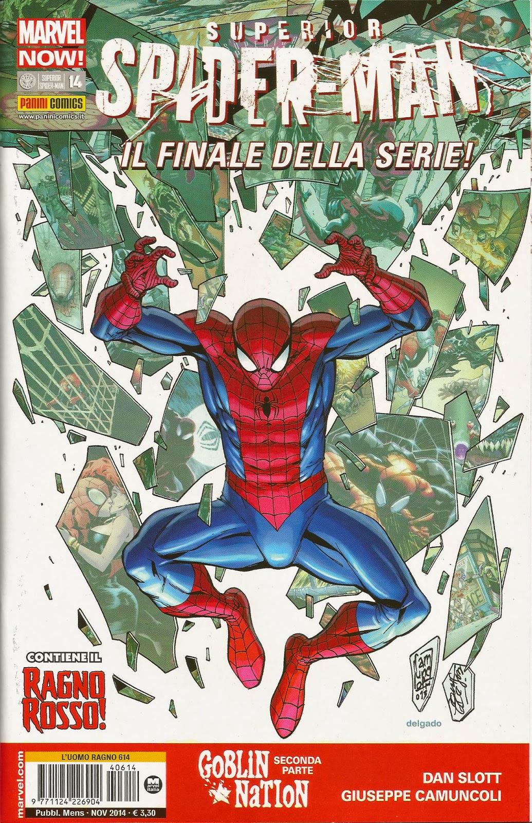 Spider-Man PANINI hobgoblin vive L'UOMO RAGNO Deluxe #31
