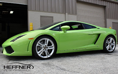 Heffener Twin Turbo Gallardo Build