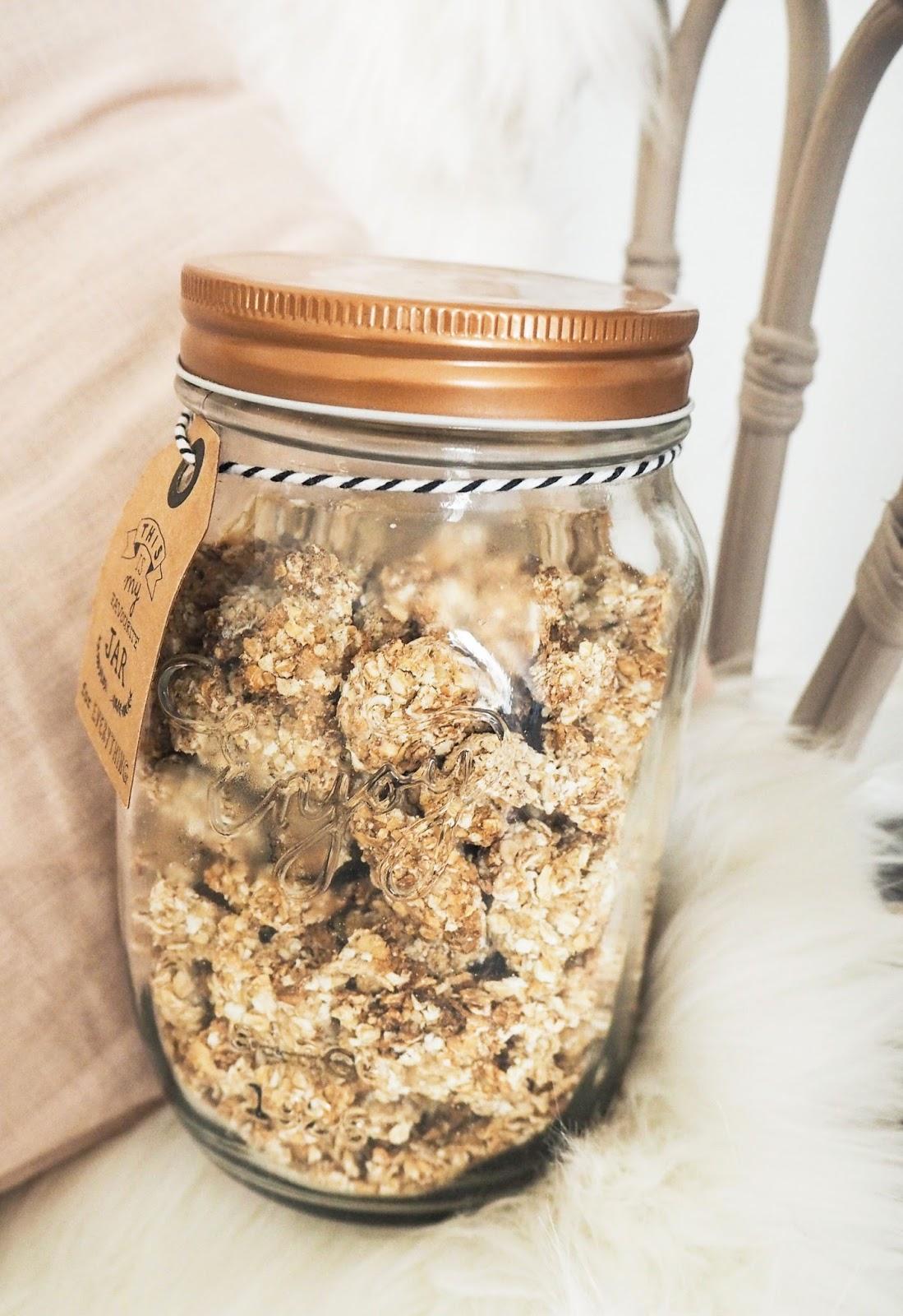 Bocal céréales maison