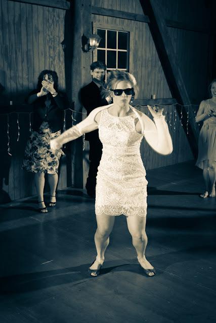 Weatherlea Farm Wedding Reception Dancing Photo
