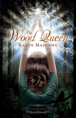Book cover of The Wood Queen by Karen Mahoney