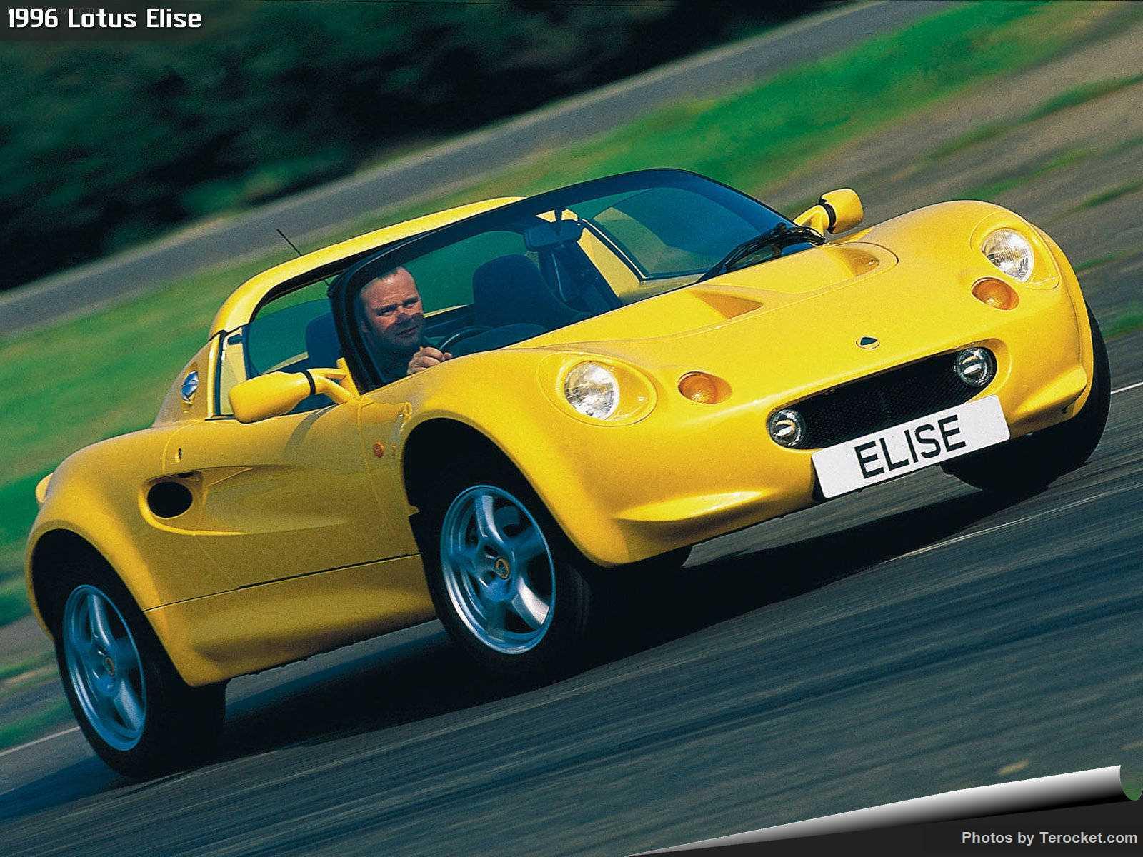 Hình ảnh siêu xe Lotus Elise 1996 & nội ngoại thất