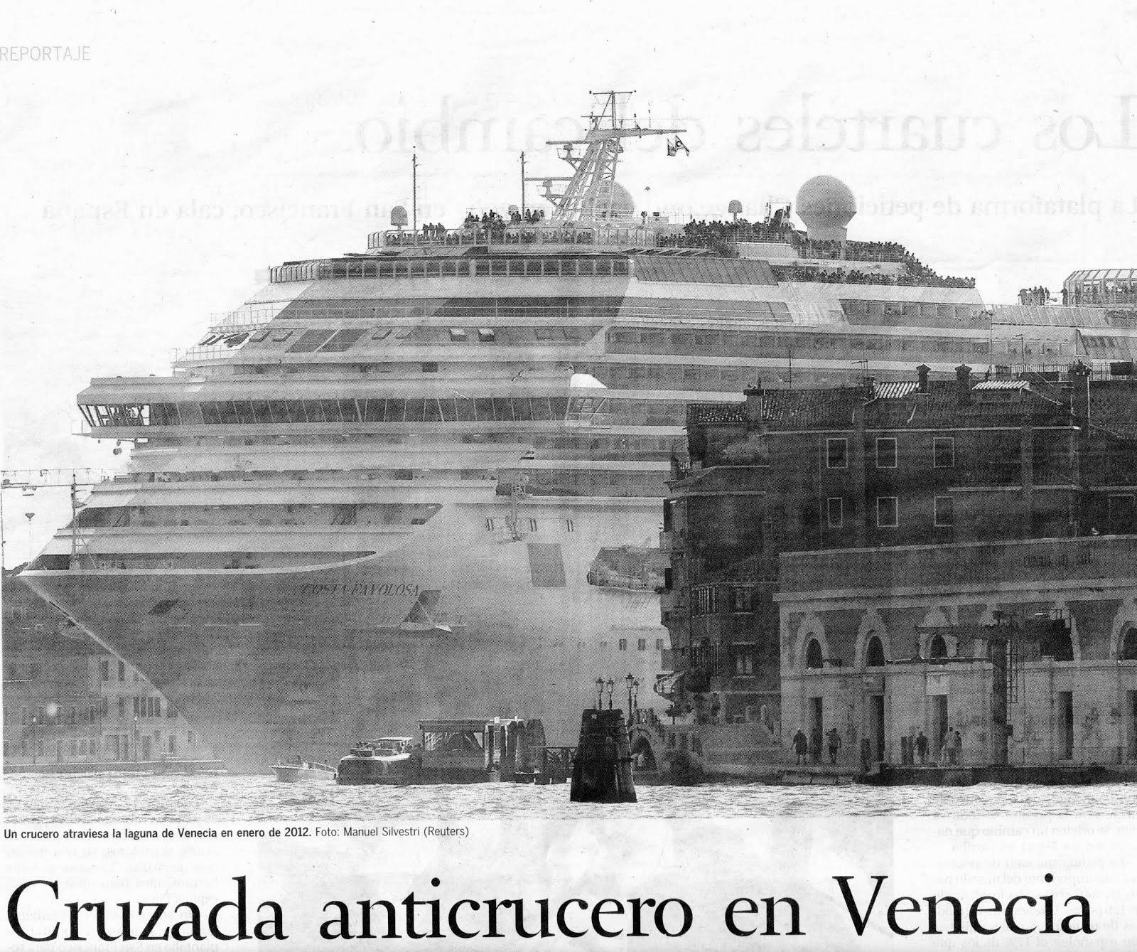 Terminal cruceros Venecia