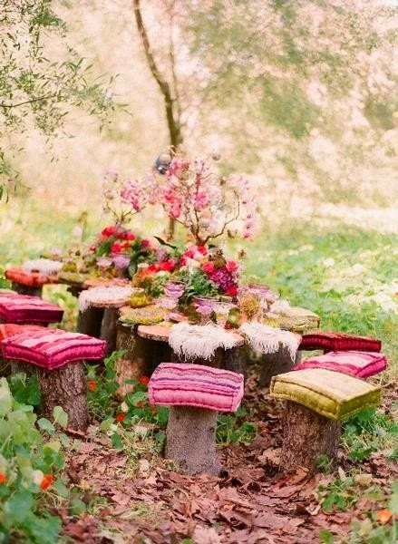 Pink garden party inspiration