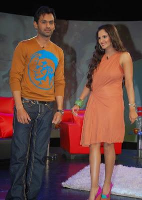 saniya mirza at ndtv tv program photo gallery