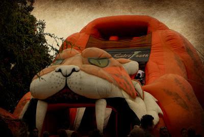 sabretooth at the local street fair