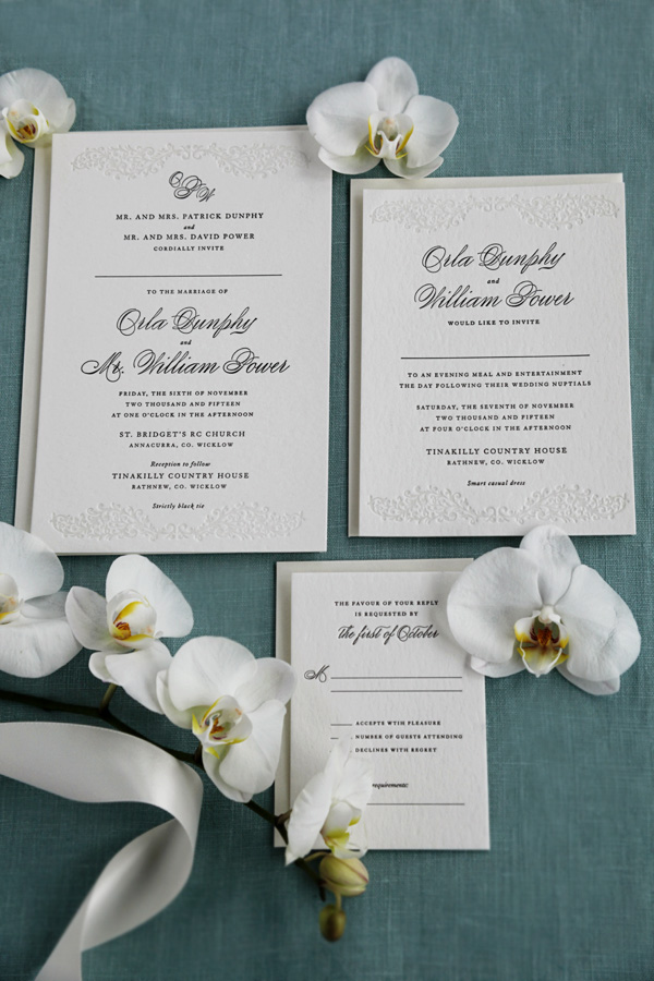 Ireland Wedding Invitations | Sweetly Said Press