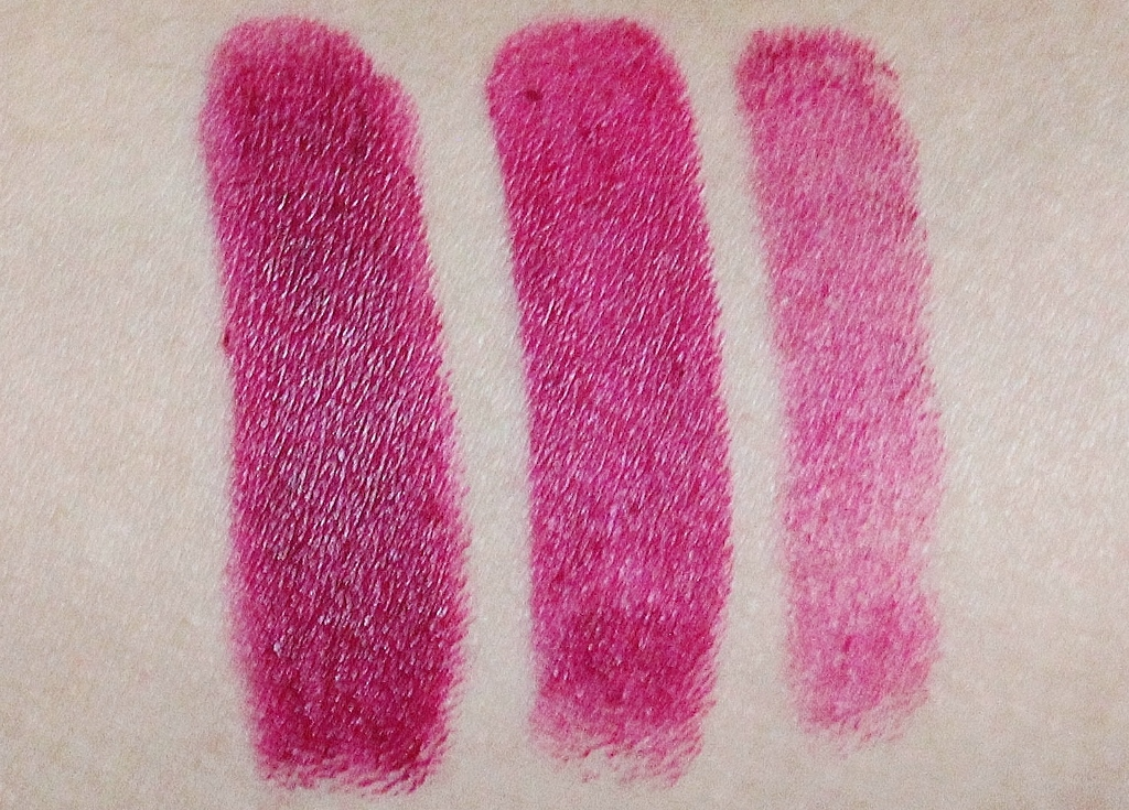 Wet'n'Wild Megalast Lipstick in Sugar Plum Fairy review and swatch