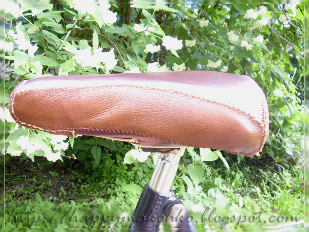 Как обшить седло велосипеда своими руками - Pumps.ru