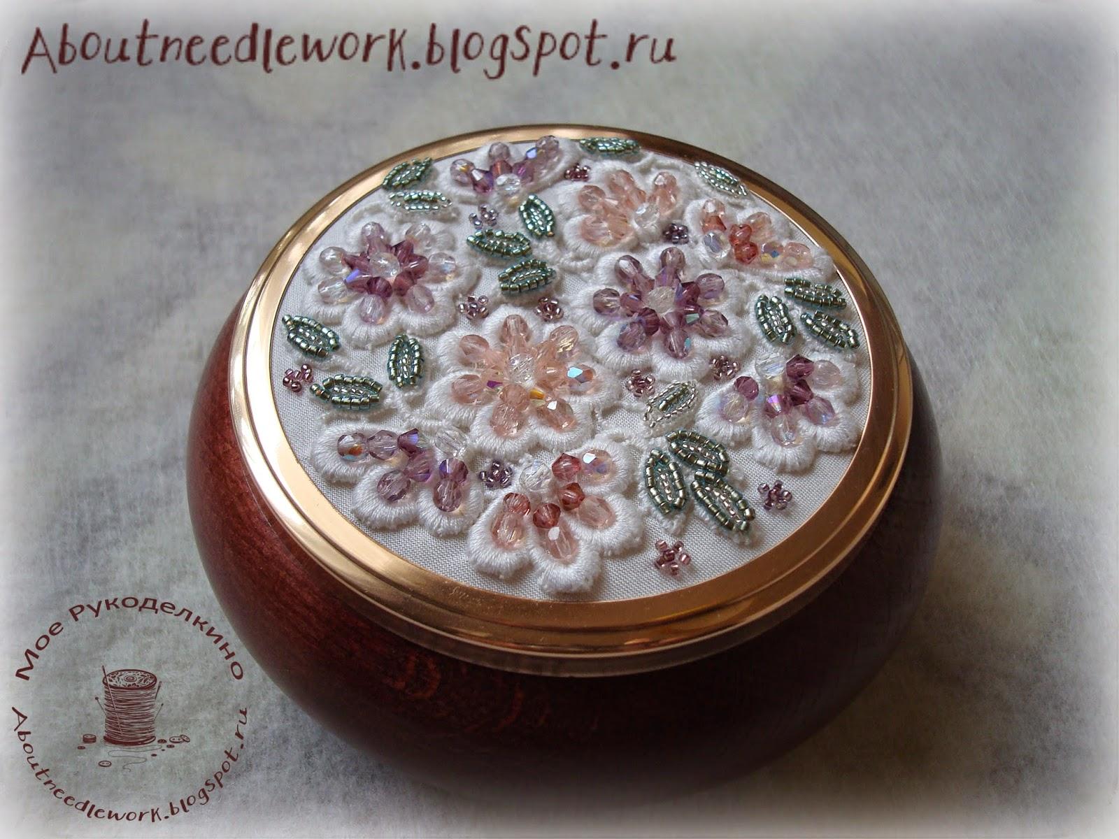 Шкатулка: вышивка бисером