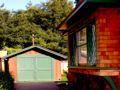 Garaje donde nació Hewlett Packard