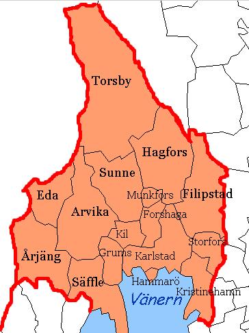 svealand karta spa i västra götaland