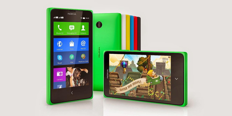 Harga dan Spesifikasi Nokia X Android 'Rasa Windows'
