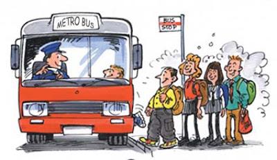 naik angkutan umum
