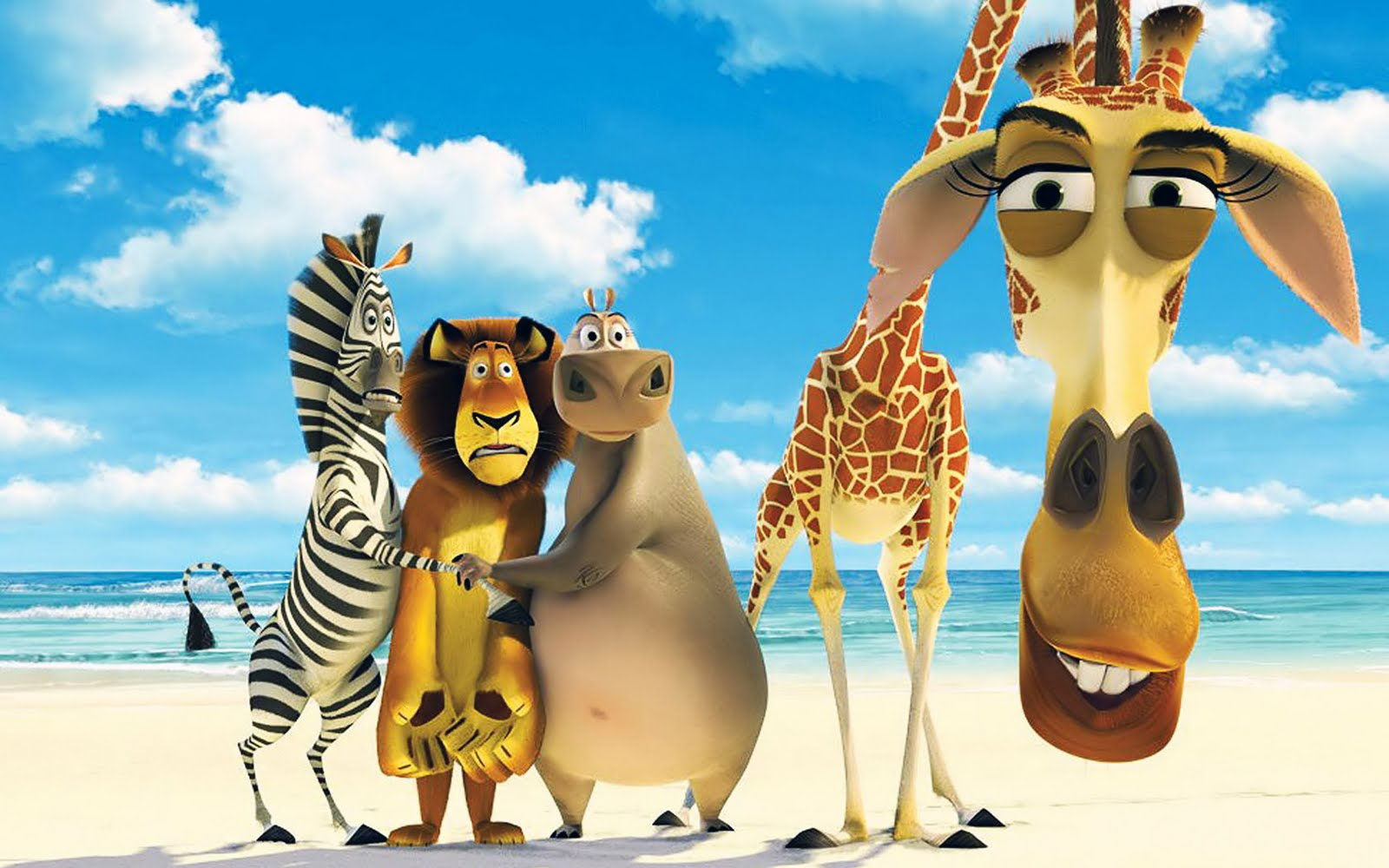 Madagascar Movie Characters Funny Stills HD