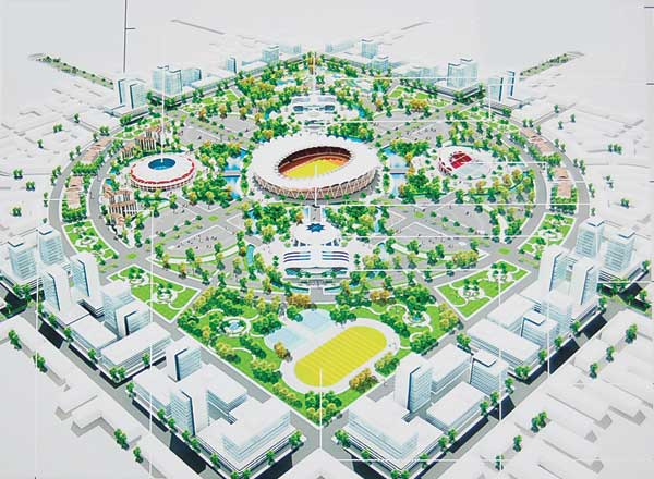Cambodia property forum is phnom penh to have new stadium for Sports complex planning design