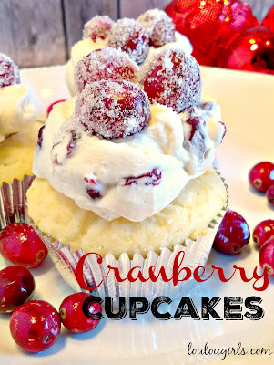 Sweet Cranberry Cupcakes recipe