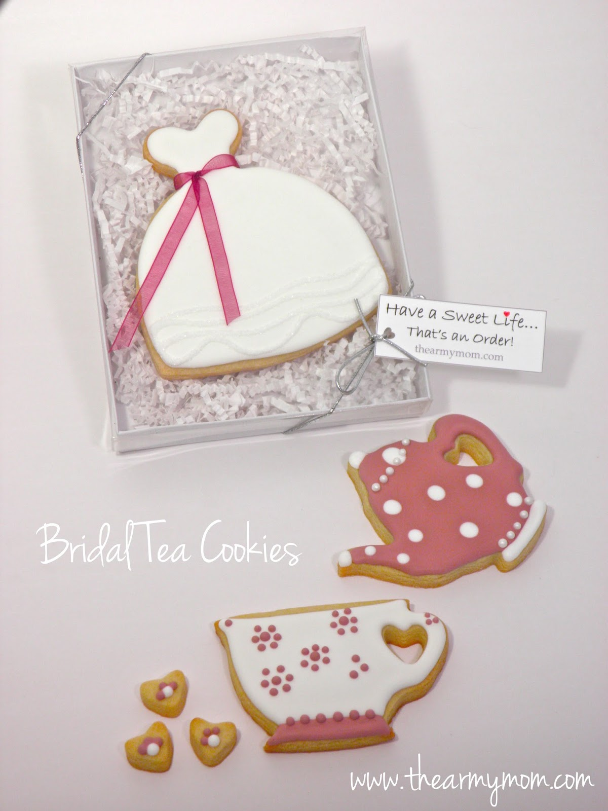 From Captain\'s Daughter to Army Mom: Bridal Tea Cookies, Deployment ...