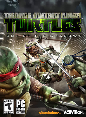 Teenage Mutant Ninja Turtles: Out of the Shadows Cover Art