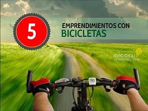 emprendimientos con bicicletas