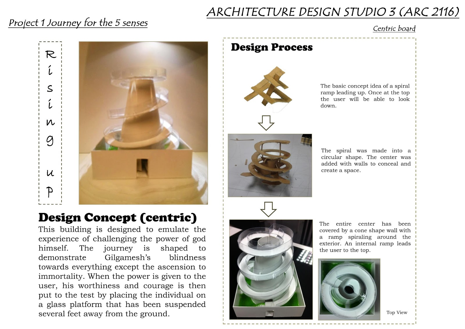 how to create concept in architecture