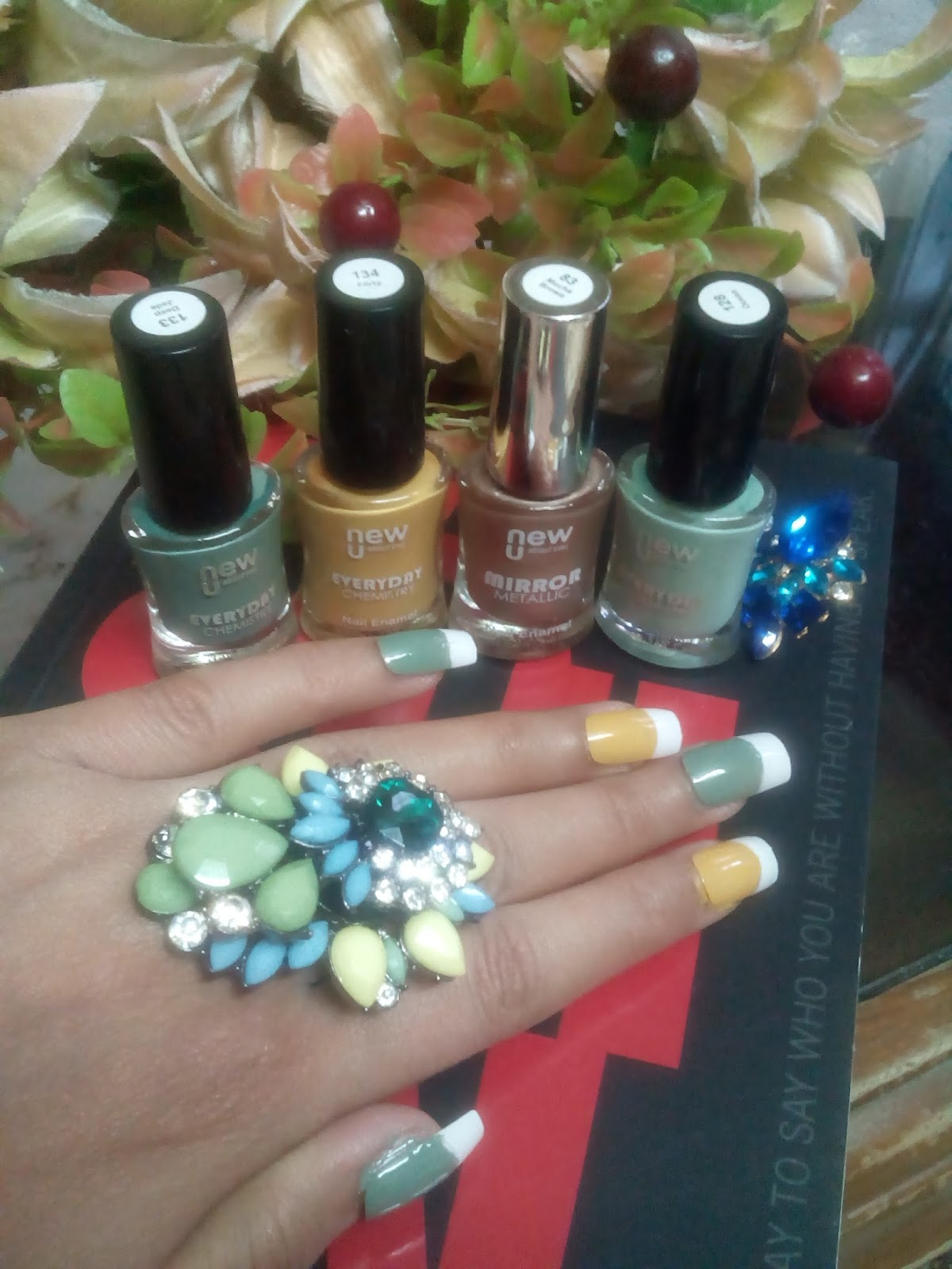 Nail Art made easy with Nail Enamels Range From New U